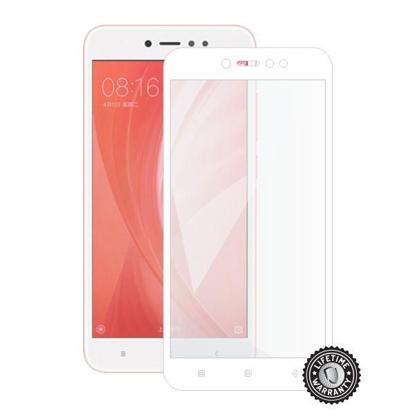 Screenshield tvrzené sklo Xiaomi Redmi Note 5A Global, full cover, white