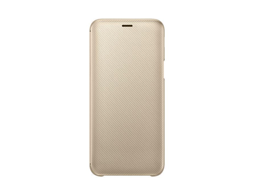 Flipové pouzdro Samsung pro J6 2018, gold