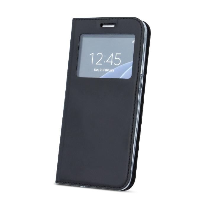 Flipové pouzdro Smart View pro Samsung Galaxy A8 2018, black