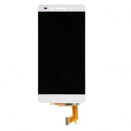 LCD + dotyková deska + přední rámeček pro Huawei Honor 7 bílá