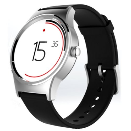 Alcatel MoveTime Watch Silver Plate