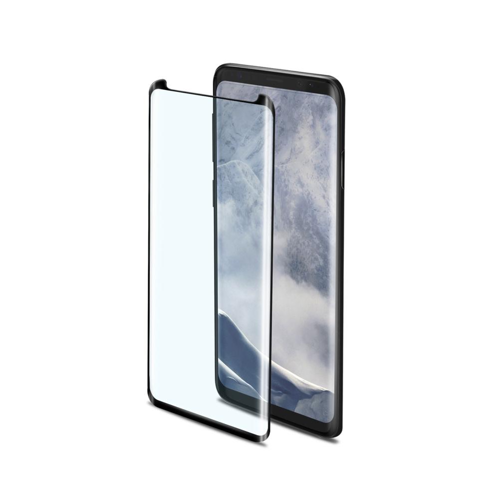 Tvrzené sklo Celly Privacy 3D pro Samsung Galaxy S9 černé