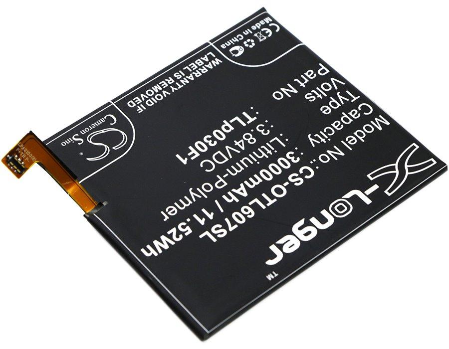 Baterie CS-OTL607SL, 3000mAh Li-Pol