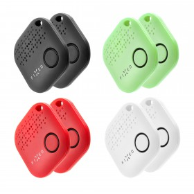 Key finder Fixed Smile 8-PACK - 2x černý, 2x bílý, 2x červený, 2x zelený