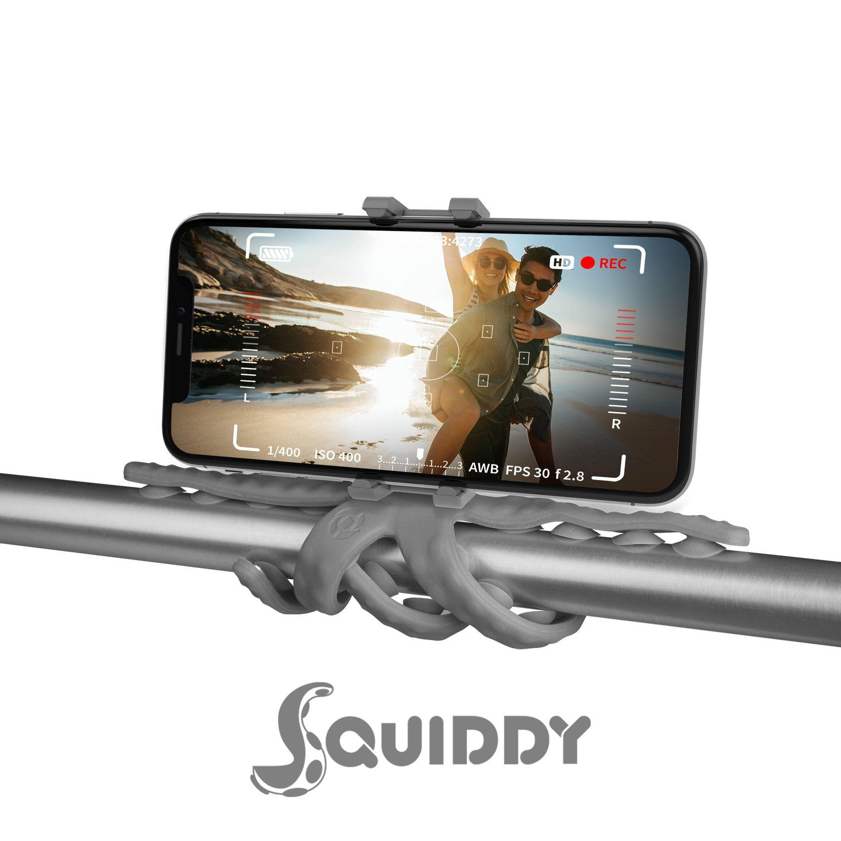 Flexibilní držák s přísavkami Celly Squiddy zelený