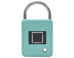 Bezpečnostní zámek BioKey TouchLock Square azurově modrá