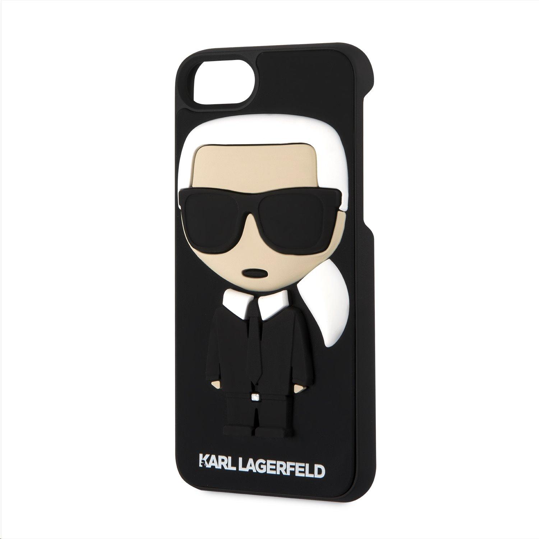 Silikonové pouzdro Karl Lagerfeld Karl Body Case na iPhone 7 8 c52562849bd
