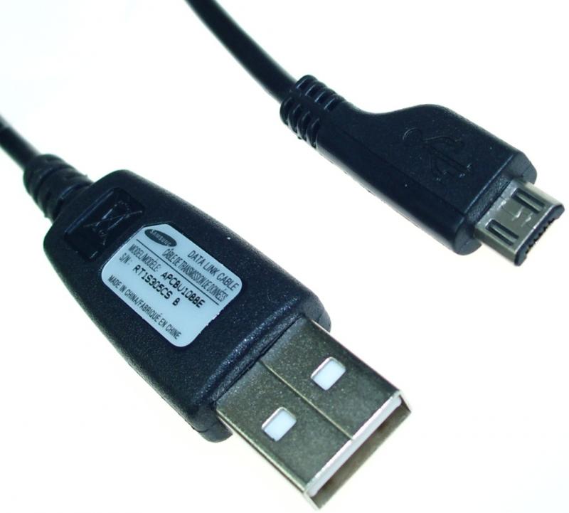 Datový kabel Samsung APCBU10BBE micro USB