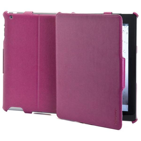 Ochranné pouzdro CELLY BOOKTAB se stojánkem pro Apple iPad 4 z kolekce Ristretto, PU kůže, červené