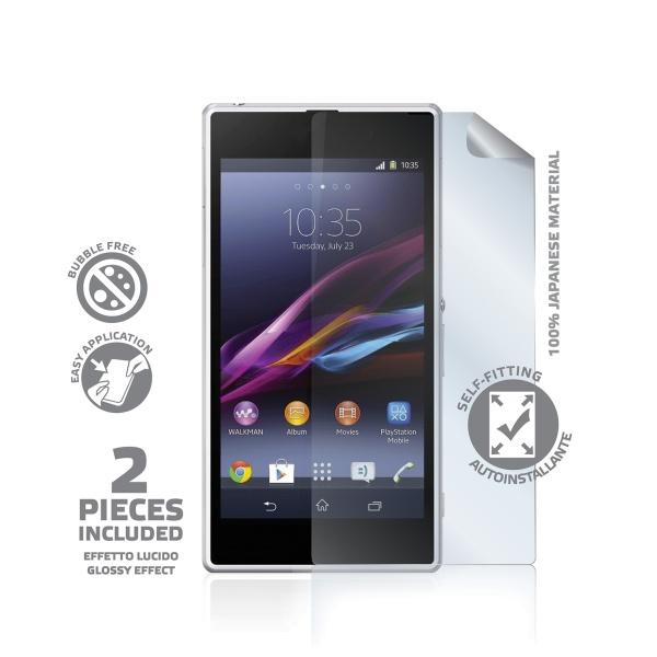 Prémiová ochranná fólie displeje CELLY pro Sony Xperia Z1, lesklá, 2ks