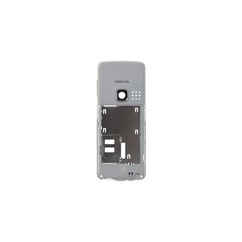 Střední kryt pro Nokia 6300, white - VÝPRODEJ!!