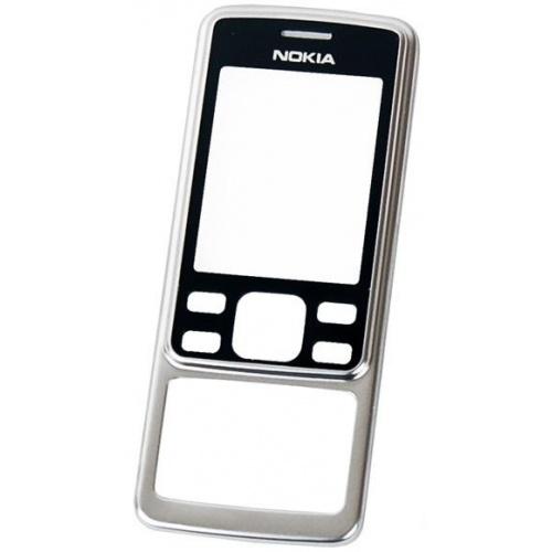 Přední kryt na mobil Nokia 6300 Silver