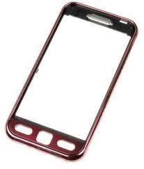 Přední kryt pro Samsung S5230 LaFleur, Garnet Red - VÝPRODEJ!!