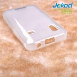 Silikonové pouzdro JEKOD TPU Samsung Galaxy Ace S5830 bílé