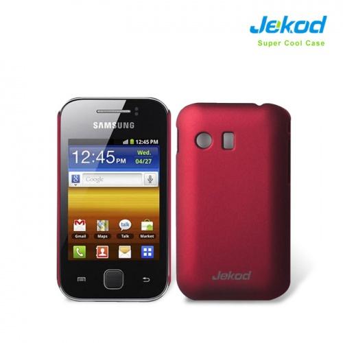 Pouzdro JEKOD Super Cool Samsung Galaxy Y S5360 červené