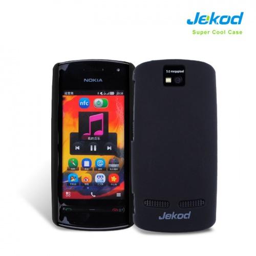 Obal na mobil Nokia 600 JEKOD Super Cool černý