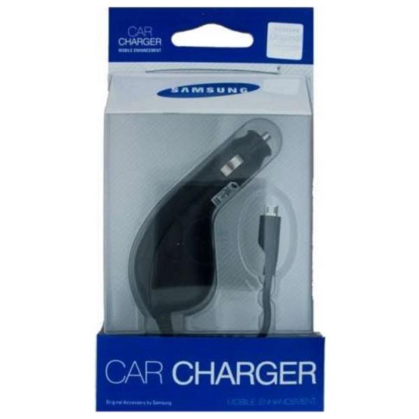 Originální nabíječka do auta CAD300UBEC pro Samsung Galaxy s micro USB (EU Blister)