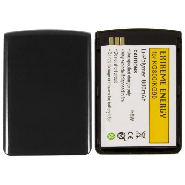 Náhradní baterie Li-Pol 800 mAh pro LG KG800, KG90