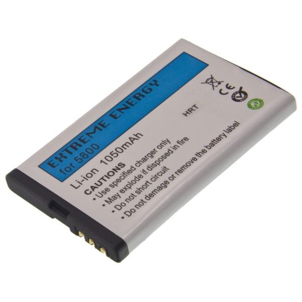 Baterie Li-Ion 1050mAh pro Nokia 5800 XM