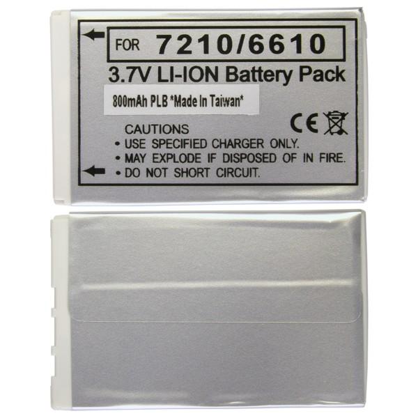 Baterie Li-Ion 800 mAh, 3,7 mm pro Nokia 2100, 3300, 7210, 6610, 6220, 7250