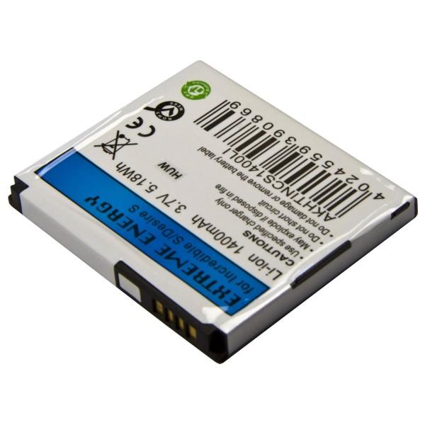 Náhradní baterie pro HTC Incredible S/ Desire St, Li-Ion 1400mAh