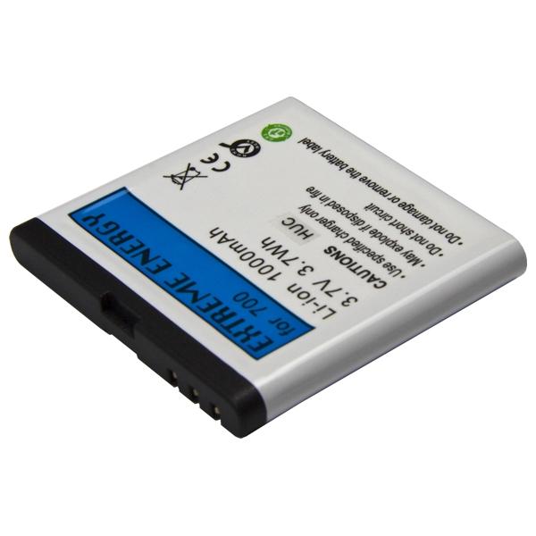 Náhradní baterie pro Nokia 700 Li-Ion 1000 mAh