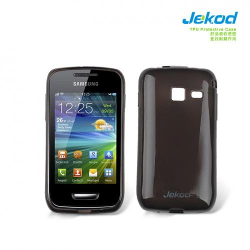 Pouzdro JEKOD TPU Samsung Wave Y S5380 silikonové, černé
