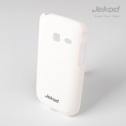 Pouzdro JEKOD Super Cool Samsung Galaxy Y Duos S6102 bílé