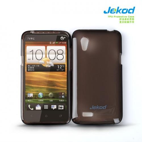 Pouzdro JEKOD TPU HTC Desire VT silikonové, černé