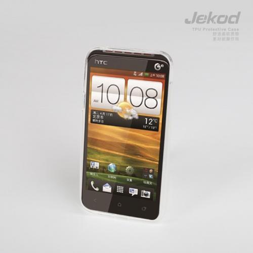 Silikonové pouzdro JEKOD TPU HTC Desire VT bílé