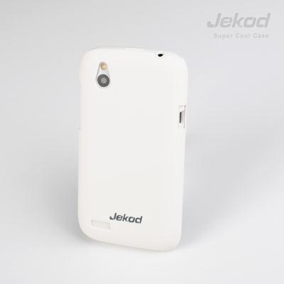 Ochranné pouzdro JEKOD Super Cool pro HTC Desire V, bílé