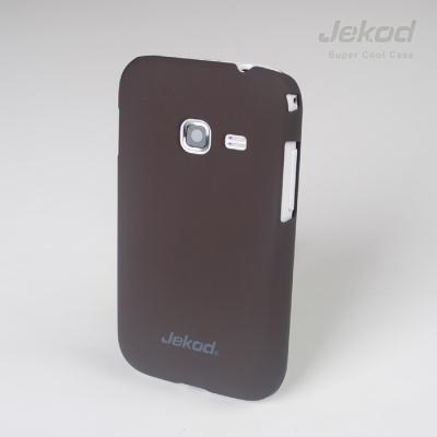 Pouzdro na mobil JEKOD Super Cool Samsung Galaxy Ace Duos S6802 hnědé