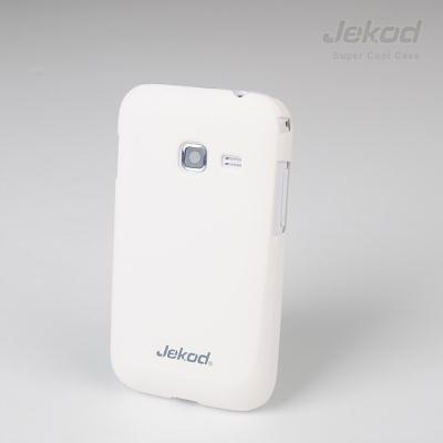 Plastové pouzdro JEKOD Super Cool Samsung Galaxy Ace Duos S6802 bílé