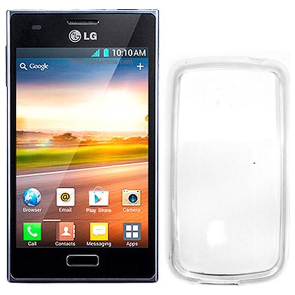 Silikonové pouzdro CELLY Gelskin pro LG Optimus L5, čiré
