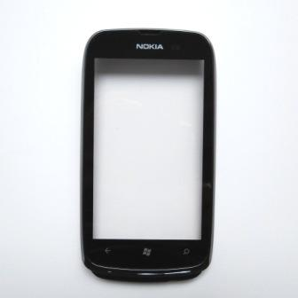 Přední kryt + dotyková plocha (deska) Nokia Lumia 610 Black