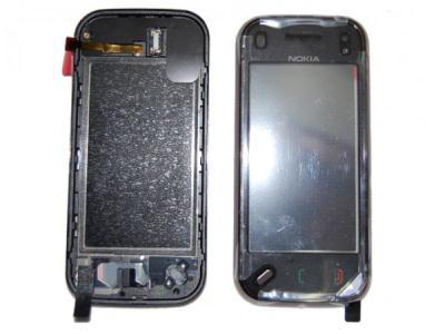 Přední kryt Nokia N97mini Cherry Black