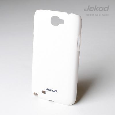 Plastové pouzdro JEKOD Super Cool Samsung Galaxy Note II N7100 bílé