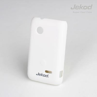 Pouzdro na mobil JEKOD Super Cool Sony Xperia Tipo ST21i bílé