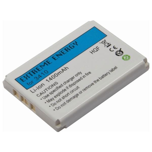 Náhradní baterie Extreme Energy pro Nokia 3310/ 3410/ 3510/ 5510/ 6650/ 6800, Li-Ion 1400 mAh