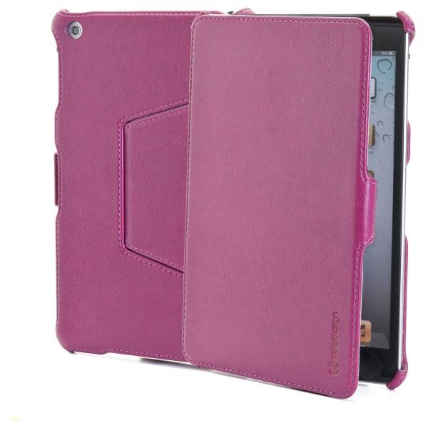 Ochranné pouzdro CELLY BOOKTAB se stojánkem pro Apple iPad Mini z kolekce Ristretto, PU kůže, červené