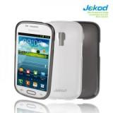 Silikonové ochranné pouzdro JEKOD TPU Samsung i8190 Galaxy SIII ( S3 ) Mini bílé