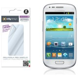 Ochranná folie Screen protector CELLY pro displej Samsung Galaxy S3 Mini i8190 , 2ks lesklý