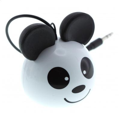 Reproduktor KitSound mini Buddy Panda - jack 3,5mm