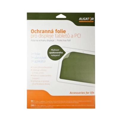 """Folie Aligator Tablet 7""""-8,9"""" (114x195mm) transparentní 1ks"""