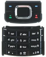 Klávesnice navigační + numerická pro Nokia 6500 Slide Black