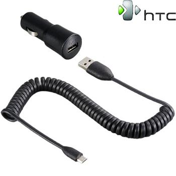 Nabíječka do auta HTC CC-C200 microUSB (1A / 5V) (Bulk)