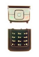 Nokia klávesnice navigační+numerická 6288 White/Black