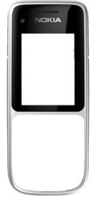 Přední + Zadní kryt + klávesnice pro Nokia C2-01, warm silver