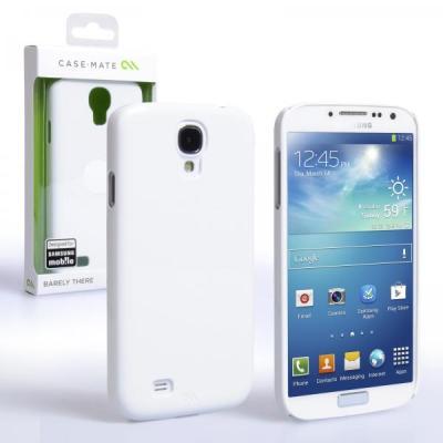 Ochranný zadní kryt (pouzdro) Case Mate pro Samsung Galaxy S4 i9505/i9500 Barely There White (CM027000)