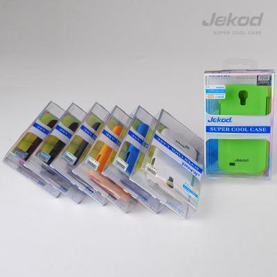 Ochranné pouzdro JEKOD Super Cool pro Samsung Galaxy S4 i9505/i9500 zelené